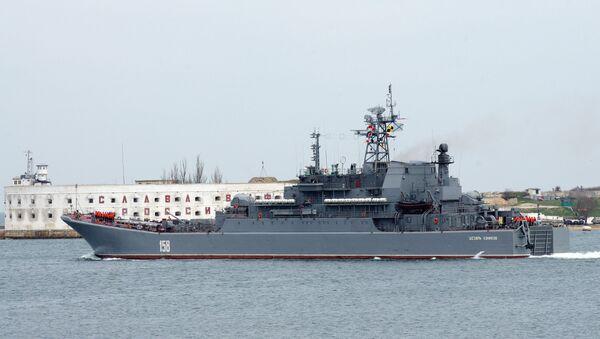 Buque de desembarco Caesar Kunikov - Sputnik Mundo