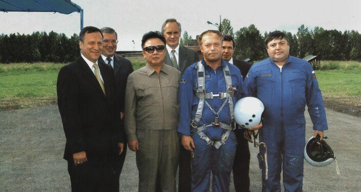 La visita de Kim Jong-il a la ciudad rusa de Novosibirsk, 2001