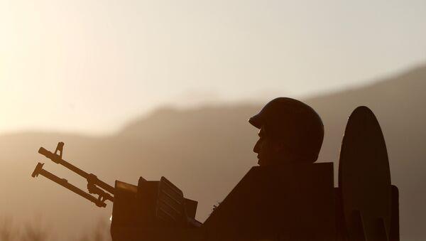 Un militar turco (imagen referencial) - Sputnik Mundo