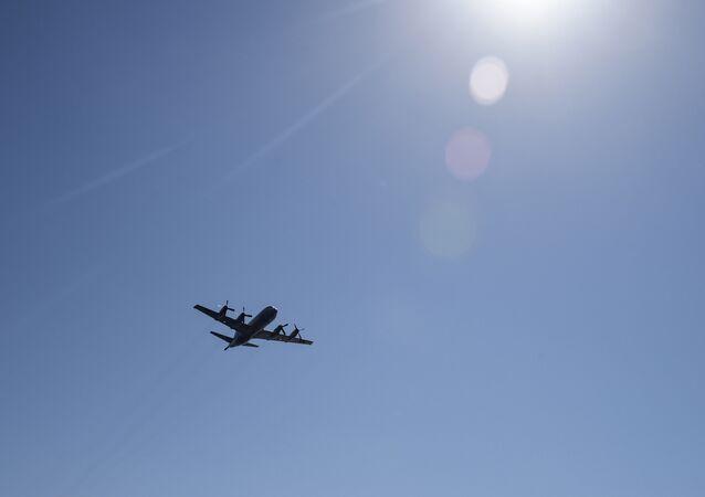 Un avión P-3 Orion