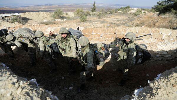 Ejército de Turquía en Afrín - Sputnik Mundo