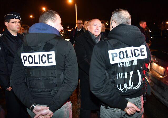 Situación en Calais, Francia