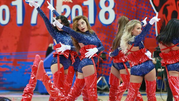 Las animadoras más bonitas de Rusia - Sputnik Mundo
