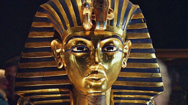 La máscara póstuma de Tutankamón - Sputnik Mundo