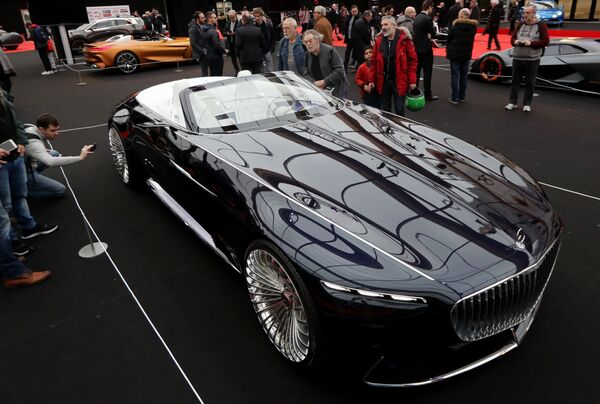Así son los automóviles más hermosos del futuro - Sputnik Mundo