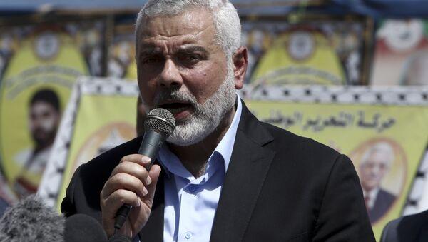 Ismail Haniyeh, líder del movimiento Hamás (archivo) - Sputnik Mundo