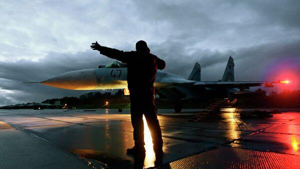 Caza Su-27 (archivo) - Sputnik Mundo