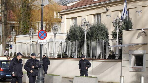La Embajada de Israel en Varsovia, Polonia - Sputnik Mundo