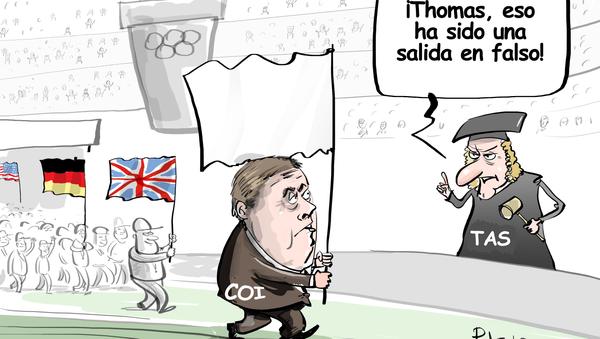 El Comité Olímpico Internacional, fuera de juego - Sputnik Mundo