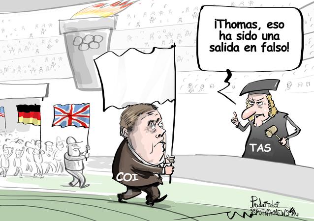 El Comité Olímpico Internacional, fuera de juego
