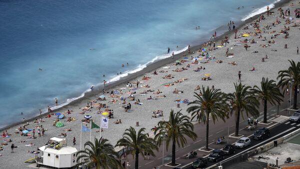 Playa de Niza, Francia (archivo) - Sputnik Mundo
