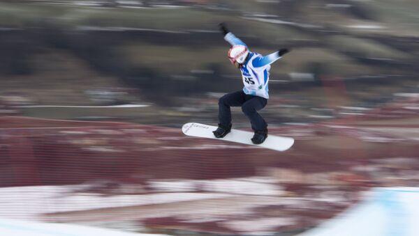 Steven Williams, el atleta argentino de snowboard cross - Sputnik Mundo