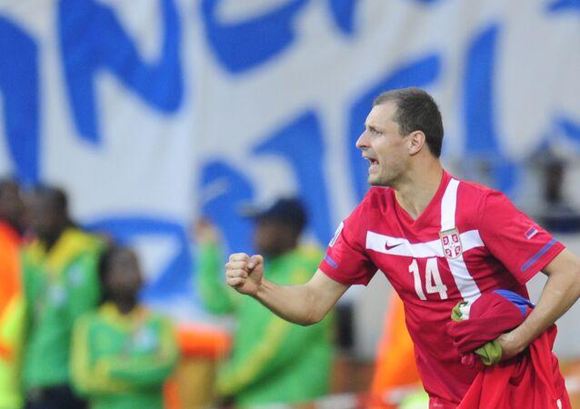 El exfutbolista serbio Milan Jovanovic