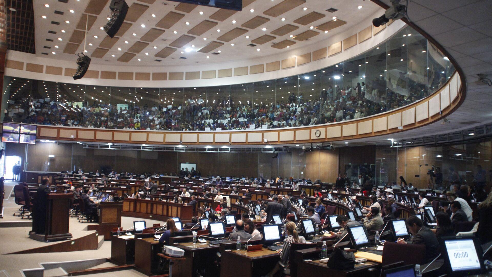 La Asamblea Nacional de Ecuador (archivo) - Sputnik Mundo, 1920, 23.04.2021