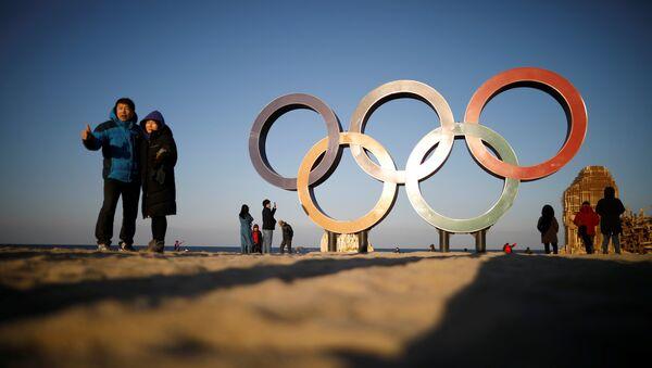 El símbolo de Juegos Olímpicos - Sputnik Mundo
