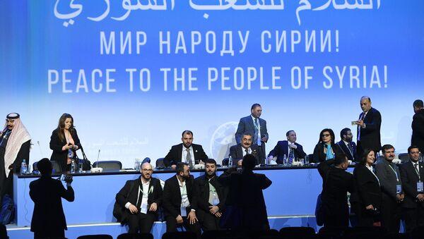 Congreso del Diálogo Nacional en Sochi - Sputnik Mundo
