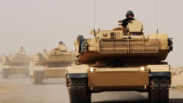 Tanques M1A1 Abrams en Irak - Sputnik Mundo