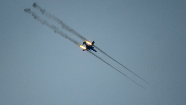 Un Su-25 - Sputnik Mundo