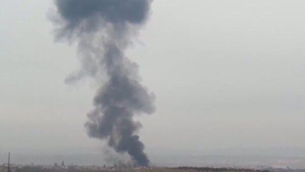 Acciones de combate: así fue el derribo del Su-25 y la respuesta rusa a los terroristas en Siria - Sputnik Mundo