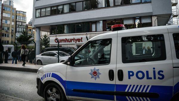 Un auto de la policía turca (imagen referencial) - Sputnik Mundo
