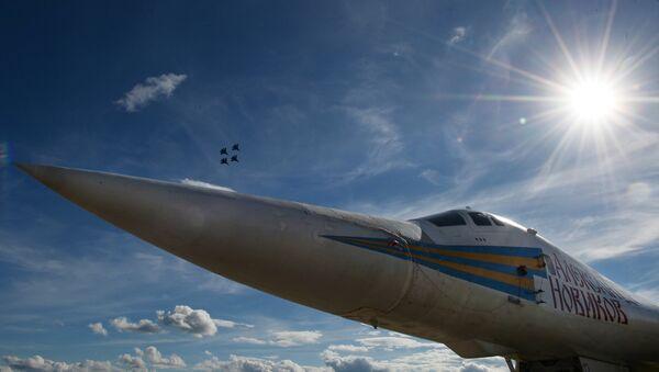 Un bombardero Tu-160 - Sputnik Mundo