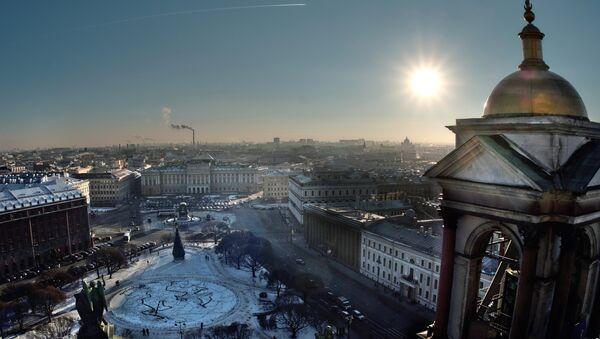 Vista de San-Petersburdgo (imagen ilustrativa) - Sputnik Mundo