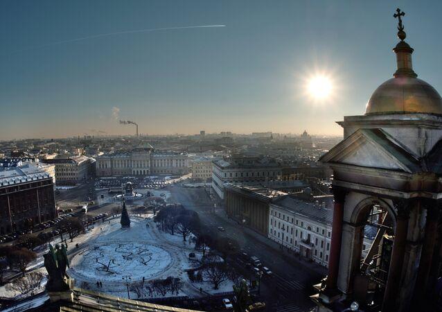 Vista de San-Petersburdgo (imagen ilustrativa)