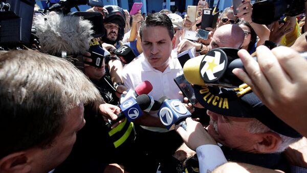 Fabricio Alvarado, candidato a las presidenciales de Costa Rica - Sputnik Mundo