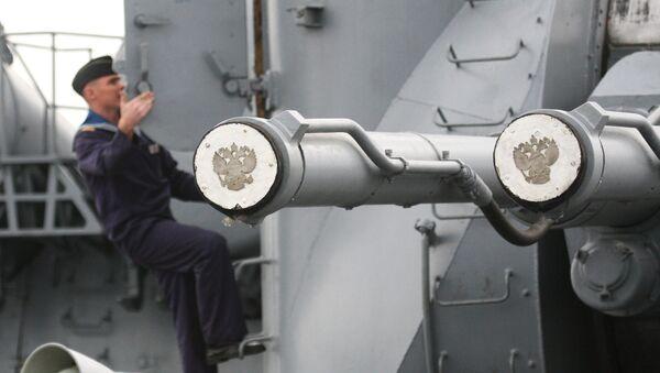 AK-130, cañón naval - Sputnik Mundo