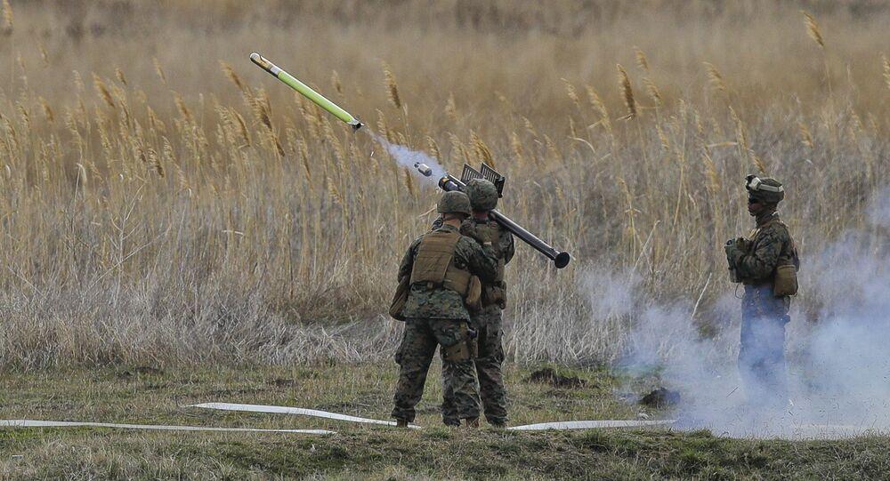 Lanzamiento de un misil Stinger (imagen referencial)