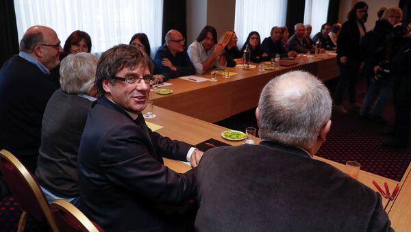 Carles Puigdemont, el líder independentista - Sputnik Mundo