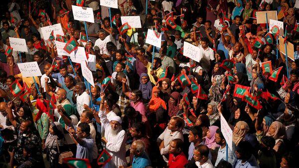 Protestas en las Maldivas - Sputnik Mundo