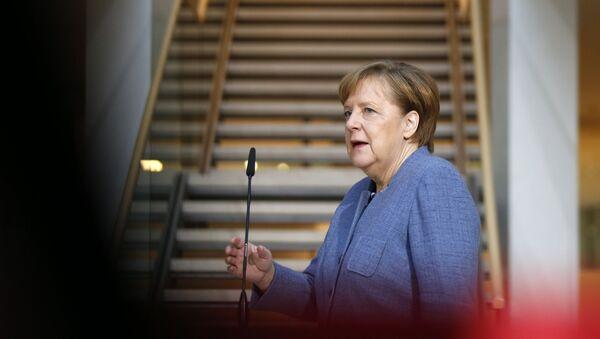 Angela Merkel, la canciller federal de Alemania - Sputnik Mundo