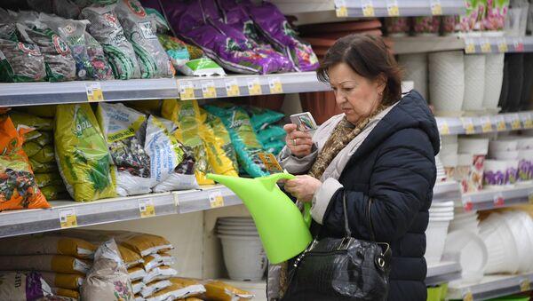 Tienda en Rusia (imagen referencial) - Sputnik Mundo