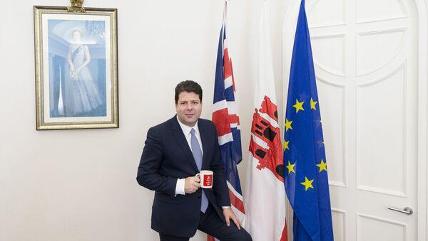 Ministro principal de Gibraltar, Fabian Picardo - Sputnik Mundo