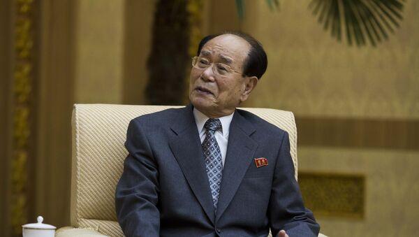 Kim Yong-nam, presidente de la Asamblea Suprema del Pueblo de Corea del Norte - Sputnik Mundo
