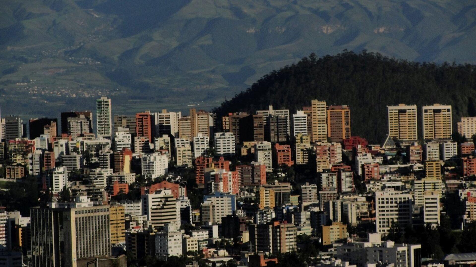 Quito, la capital de Ecuador - Sputnik Mundo, 1920, 21.06.2021
