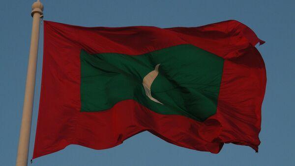La bandera de Maldivas - Sputnik Mundo