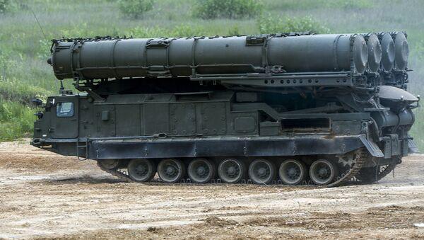 Antey-2500 anti aircraft S-300VM system - Sputnik Mundo