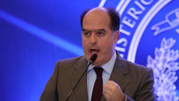 Julio Borges, diputado venezolano, quien encabeza la delegación de la oposición - Sputnik Mundo