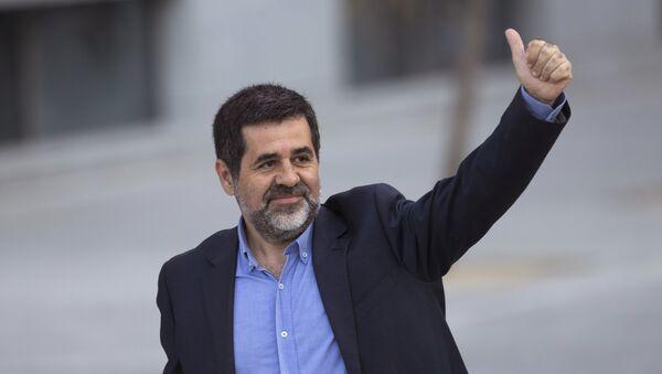 Jordi Sánchez, el expresidente de la Asamblea Nacional Catalana - Sputnik Mundo