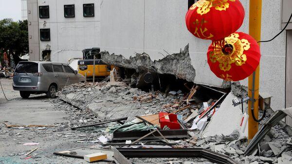 Terremoto en Taiwán - Sputnik Mundo