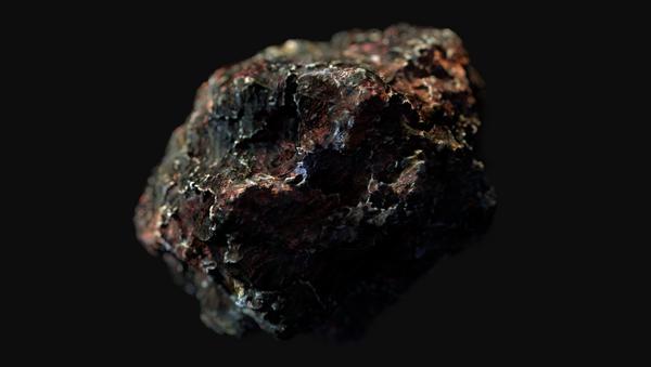Una piedra espacial, imagen de archivo - Sputnik Mundo