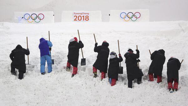 La preparación para los Juegos Olímpicos 2018 (imagen referencial) - Sputnik Mundo