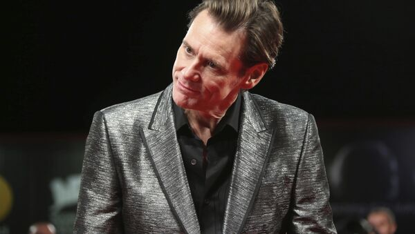 Jim Carrey, actor canadiense-estadounidense - Sputnik Mundo