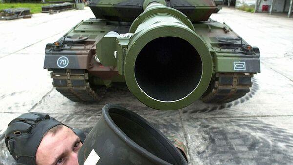 El tanque alemán Leopard - Sputnik Mundo