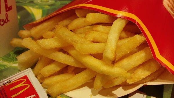 Patatas fritas de McDonald's - Sputnik Mundo