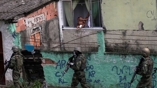 La operación policial en en Ciudad de Dios, Río de Janeiro, Brasil - Sputnik Mundo
