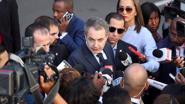 José Luis Rodríguez Zapatero, expresidente del Gobierno de España - Sputnik Mundo