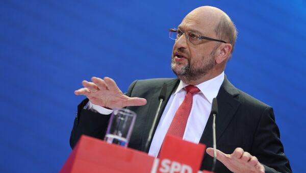 Martin Schulz, líder del Partido Socialdemócrata (SPD) - Sputnik Mundo